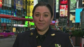Hero NYPD cop recounts rescue of girl shot in Times Square