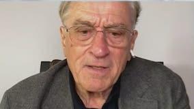 Robert De Niro talks about injured quadricep ahead of surgery