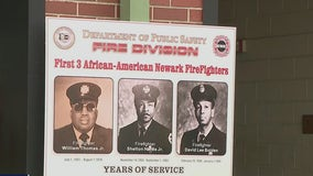 Firehouse dedicated to Newark's first three African-American firefighters