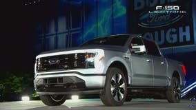 Ford unveils battery-powered Ford F-150 Lightning in electric debut