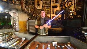 Disney teases real-life retractable lightsaber on May 4