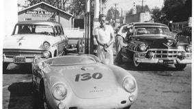 Part of James Dean's wrecked Porsche heads to auction