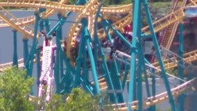 Several attendees trapped on roller coaster at Six Flags in San Antonio