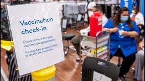 Walmart, Sam's Club offering walk-up COVID-19 vaccines