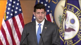 Ex-House Speaker Paul Ryan says GOP 'at a crossroads,' calls for party members to reject Trump