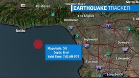 3.0-magnitude quake strikes off Malibu coast