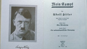 Yearbooks recalled over NY student citing Hitler's 'Mein Kampf'