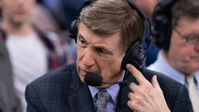 Broadcaster Marv Albert retiring after NBA East finals