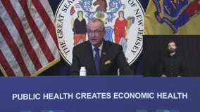 New Jersey governor relaxes coronavirus restrictions