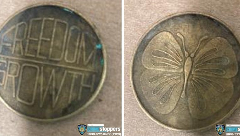 A sobriety coin