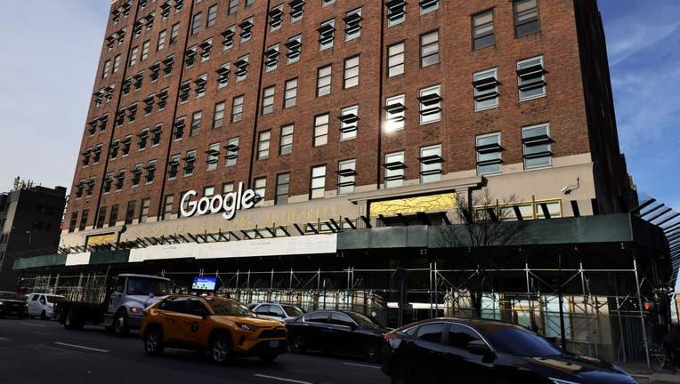 The Manhattan Google headquarters