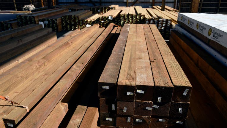 Lumber at Adams Lumber Company . (File Photo by Hyoung Chang/MediaNews Group/The Denver Post via Getty Images)