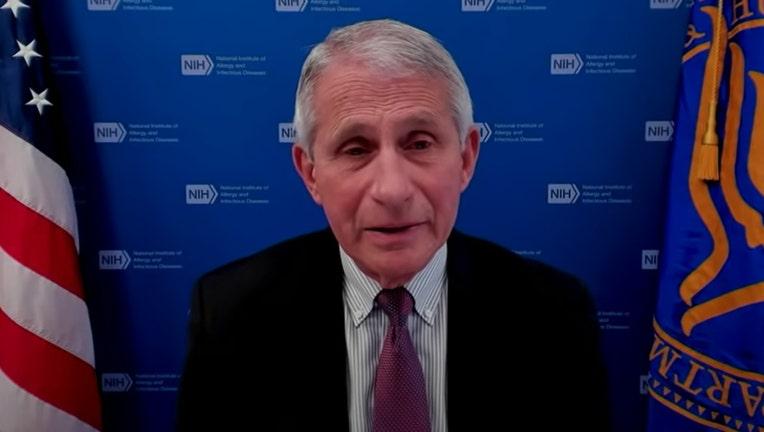 Dr. Anthony Fauci screenshot