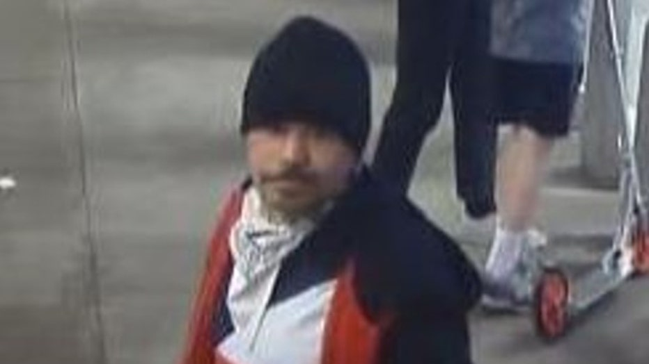 The NYPD wants to find the man who assaulted a woman entering an L train subway station in the East Village.