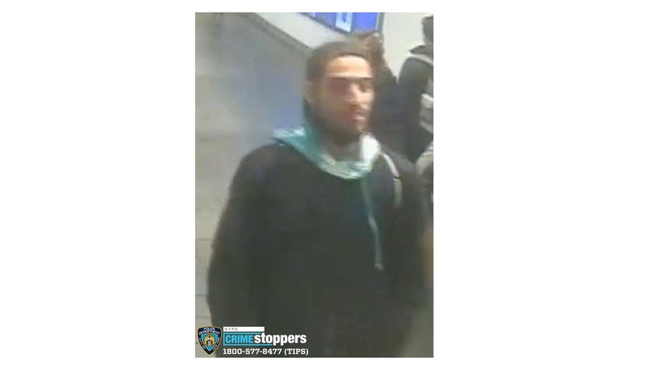 A 35-year-old man sitting on a bench of the 1,2,3 line in Times Square was spit on by another man who later slashed him in the face. (NYPD)