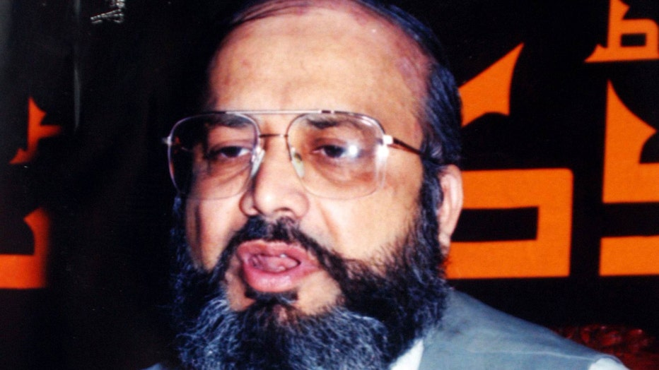 UNDATED: This handout photo of Saifullah Piracha, father of Uzair Paracha, who has been held for four months in the U.S. government's terrorism investigation, and was charged August 8, 2003 with entering the United States to help clear the way for an al-Qaida associate to sneak in after him.