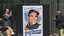 Yogi Berra gets honorary stamp