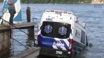 Ambulance pulled from bay