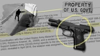Some stolen U.S. military firearms are used in violent crimes