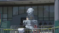 Video of Floyd statue vandals