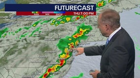 Heavy downpours, damaging winds expected as strong storms move through tri-state