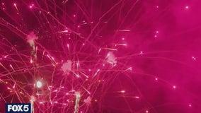 Crews prepare massive Macy's 4th of July fireworks show