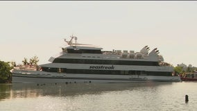 Ferry with more than 100 aboard runs aground near Brooklyn