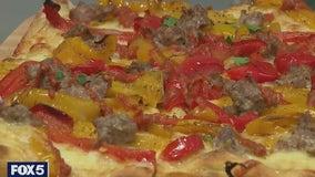 Instagram-famous bartering pizza maker opens restaurant