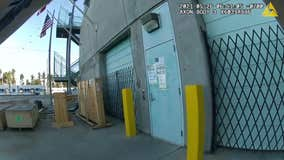 Body cam video shows moment officers respond to VTA mass shooting