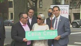 'Queen of Salsa' Celia Cruz has street named after her in the Bronx
