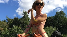 Naked bike event will require masks