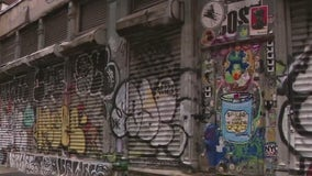 Graffiti a growing problem for SoHo store owners