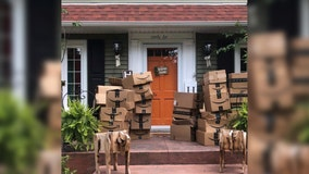 NY woman receives hundreds of Amazon packages she didn't order