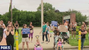 Long Island parents continue to protest school mask rule