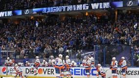 Vasilevskiy shines again, Lightning blank Islanders 1-0