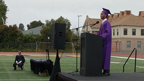 Oakland Tech H.S. valedictorian says 'absolutely no way' he's first Black male capable of holding that title