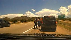 Sheriff's deputy saves choking 1-year-old girl during traffic stop