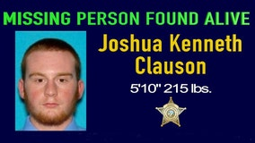 Missing man found alive after 8 nights in national forest