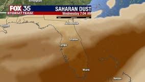 Massive Saharan dust cloud headed for Central Florida