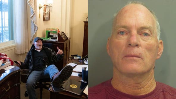 Man pictured in Pelosi's chair during Capitol riot asks judge to travel to car swap meet