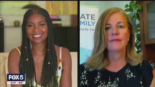 Gabrielle Union-Wade, vax advocate talk medical care