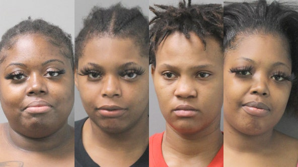 4 women on Long Island busted after Walmart attempted robbery, assault: Cops