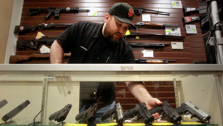 Todd Settergren of Setterarms gun shop, on Friday Jan. 13, 2017, in Walnut Creek, Ca. Settergren says California gun laws have gone too far and he welcomes the chance that the federal government under the Trump administration will ease restrictions on con