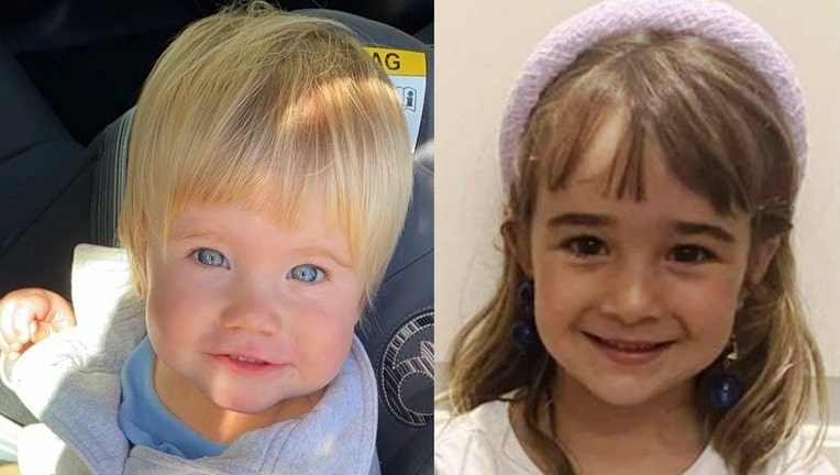 1-year-old Anna Gimeno (left) and 6-year-old Olivia Gimeno. (sosdesaparecidos.es)
