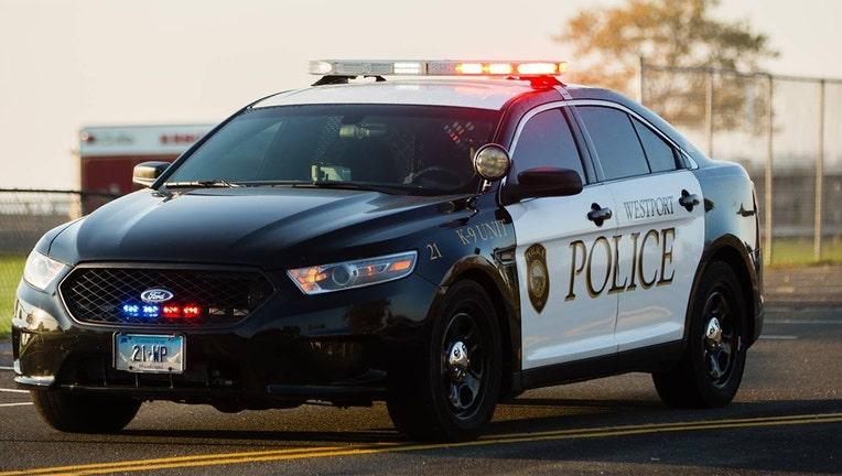 A Westport police car is seen in this file photo.(Westport Police Department)