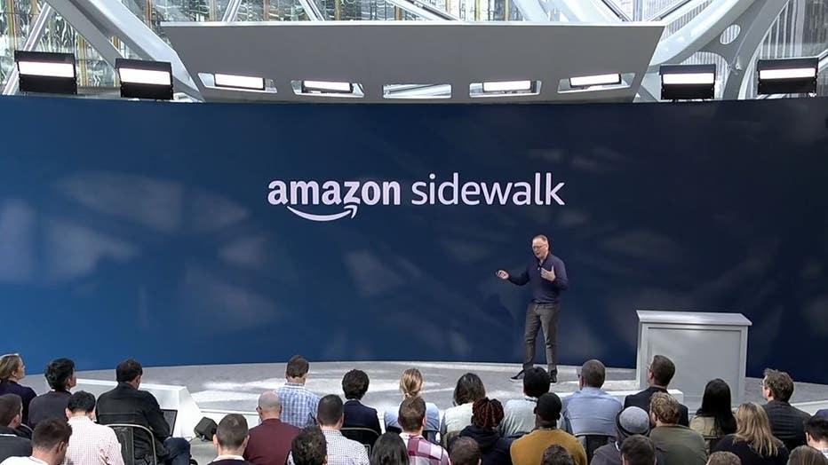 Amazon Sidewalk b roll