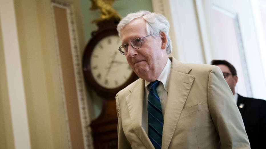 Congress Returns To Capitol Hill After Weekend