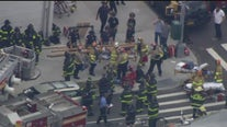 Workers rescued after partial building collapse in Brooklyn