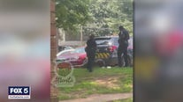 Sergeant, officer 'relieved from duty' after video surfaces showing woman being kicked