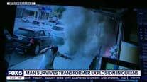 Man survives transformer explosion